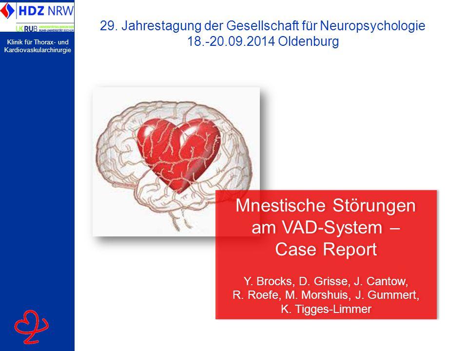 Clinic for Thoracic and Cardiovascular Surgery Sprechtext