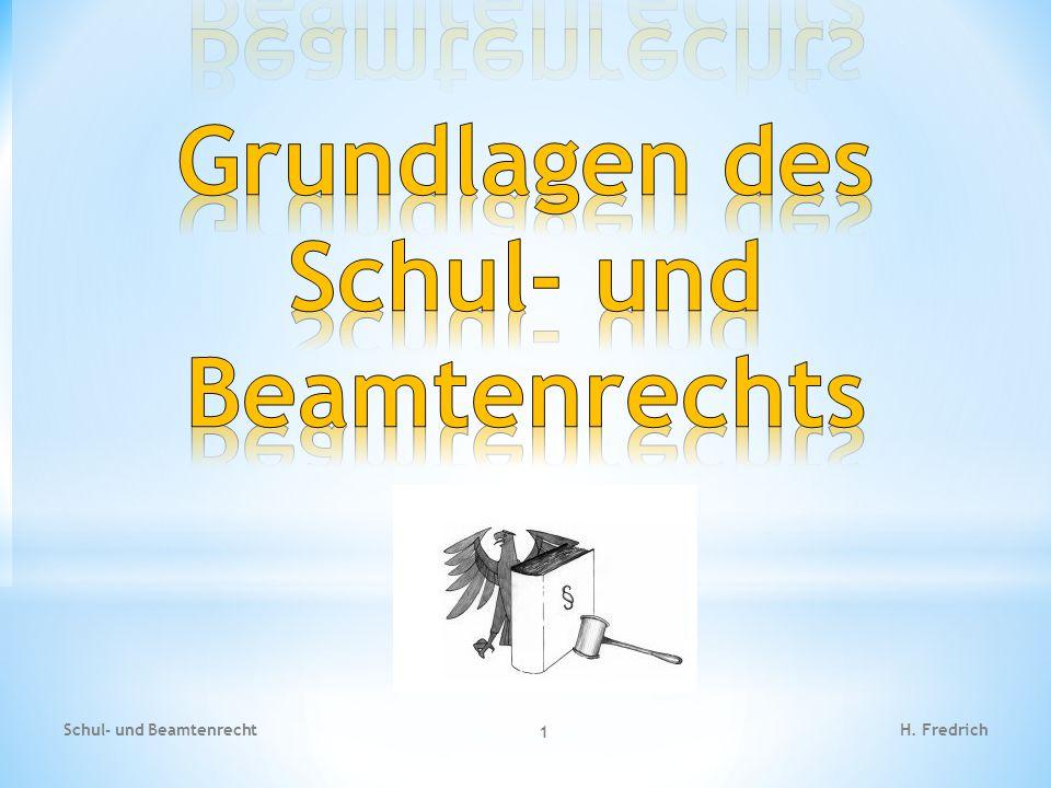 1.) Grundgesetz: Parlament - Bundestag Das Grundgesetz enthält keine eigenen Formulierungen von Erziehungszielen, ist aber für den Erziehungsauftrag insoweit bedeutungsvoll, als die Schule zu den dort verankerten Wertvorstellungen der freiheitlich demokratischen Grundordnung erziehen soll.