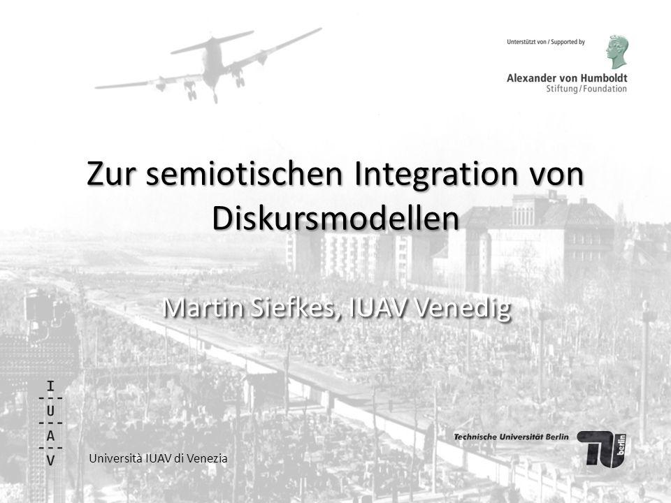 """Hintergrund Modell wurde entwickelt bei Überlegungen für das Heft der Zeitschrift für Semiotik 35, 3- 4 """"Neue Methoden der Diskursanalyse Das Modell wird vorgestellt im Artikel: Martin Siefkes (2014), """"Wie wir den Zusammenhang von Texten, Denken und Gesellschaft verstehen."""