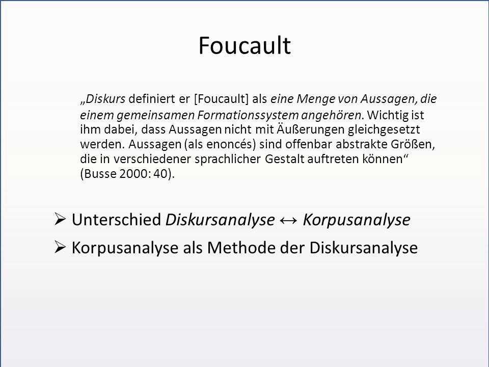 Diskurslinguistik In 2 Lager gespalten (vgl.