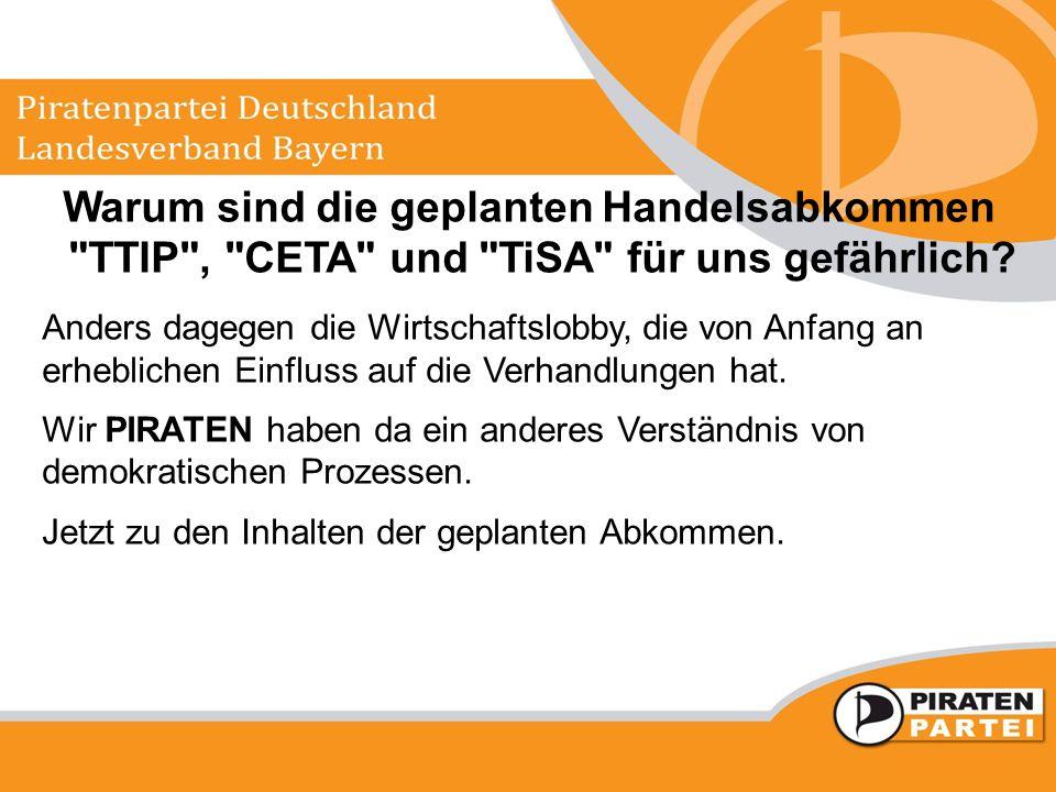 Was ist CETA.Comprehensive Economic and Trade Agreement.
