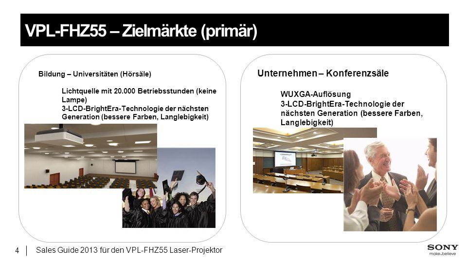 Bildung – Universitäten (Hörsäle) Lichtquelle mit 20.000 Betriebsstunden (keine Lampe) 3-LCD-BrightEra-Technologie der nächsten Generation (bessere Fa