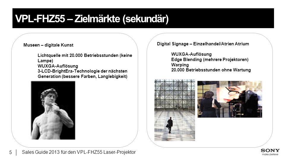 Museen – digitale Kunst Lichtquelle mit 20.000 Betriebsstunden (keine Lampe) WUXGA-Auflösung 3-LCD-BrightEra-Technologie der nächsten Generation (bess