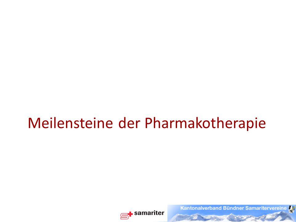 Aspirin Schon im antiken Griechenland wurde der Saft der Weidenrinde gegen Fieber und Schmerzen aller Art eingesetzt.