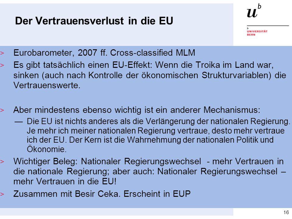 Der Vertrauensverlust in die EU > Eurobarometer, 2007 ff. Cross-classified MLM > Es gibt tatsächlich einen EU-Effekt: Wenn die Troika im Land war, sin