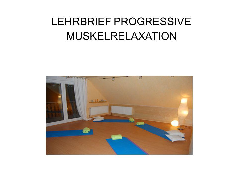 Einleitung Die Progressive Muskelrelaxation (PMR) ist ein Entspannungsverfahren, das an der Willkürmuskulatur ansetzt.