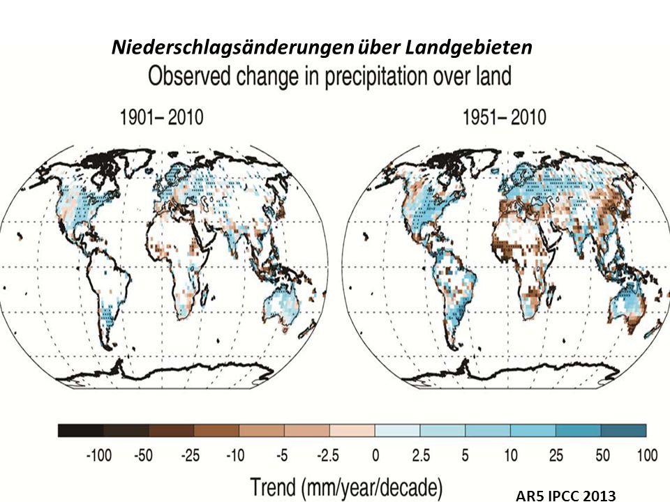 Recent sea level changes as observed from satellites Der mittlere globale Meeresspiegel schwankt wegen veränderlicher Bodenfeuchte und Schneedecke von Jahr zu Jahr Mit Satelliten beobachteter mittlerer Meeresspiegelanstieg NASA 2012