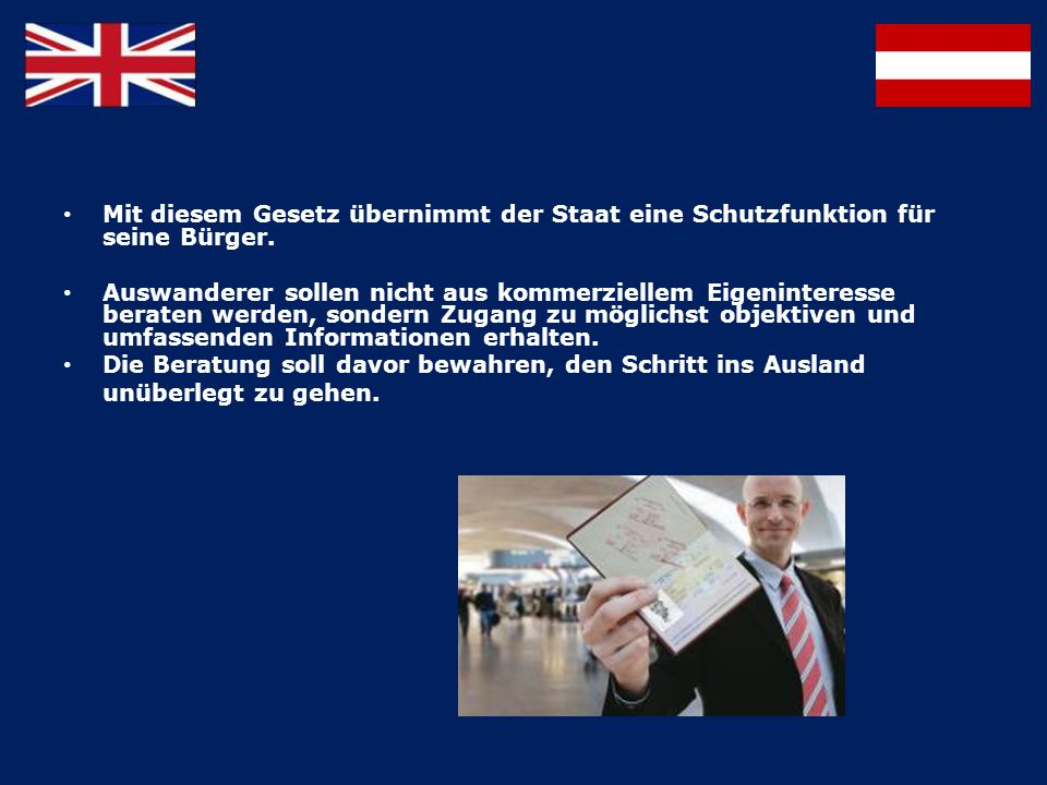 STATISTIK AUSWANDERUNG – ÖSTERREICHER NACH LONDON 4.196 Österreicher sind im Jahr 1960 – 2010 nach London ausgewandert.