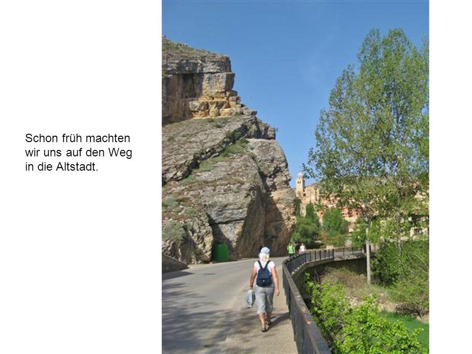 Schon früh machten wir uns auf den Weg in die Altstadt.
