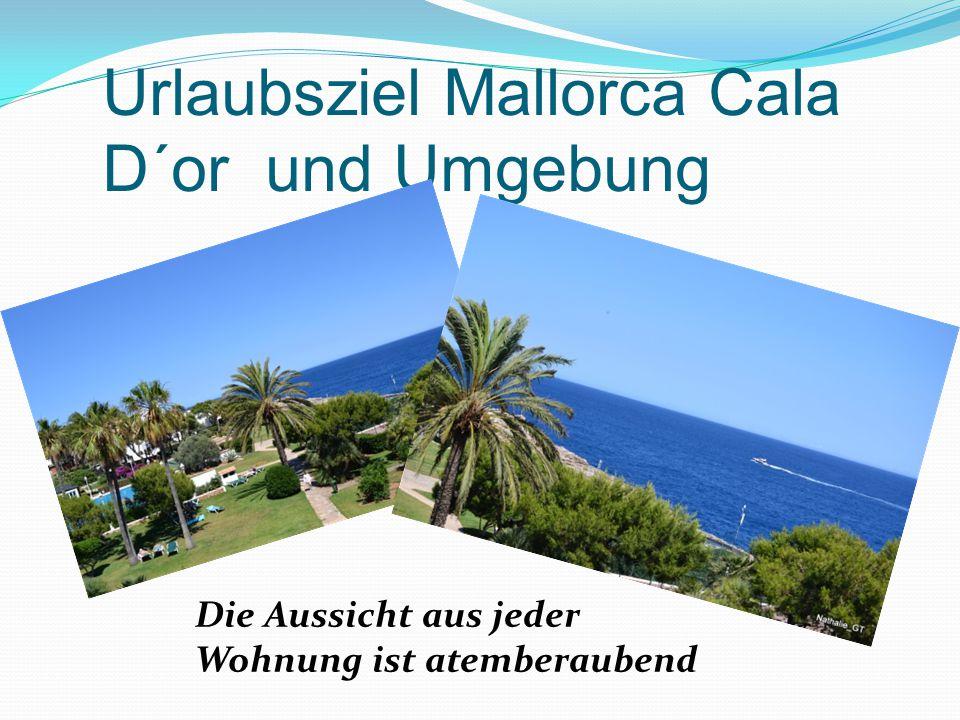 Urlaubsziel Mallorca Cala D´or und Umgebung Die Aussicht aus jeder Wohnung ist atemberaubend
