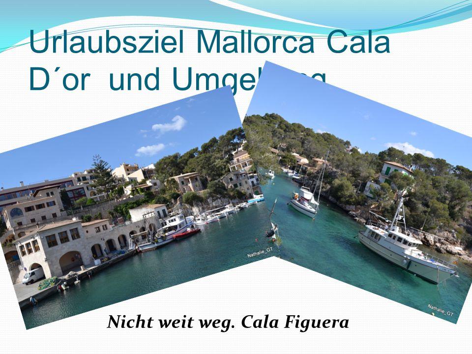 Urlaubsziel Mallorca Cala D´or und Umgebung Nicht weit weg. Cala Figuera