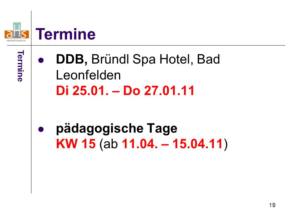 19 DDB, Bründl Spa Hotel, Bad Leonfelden Di