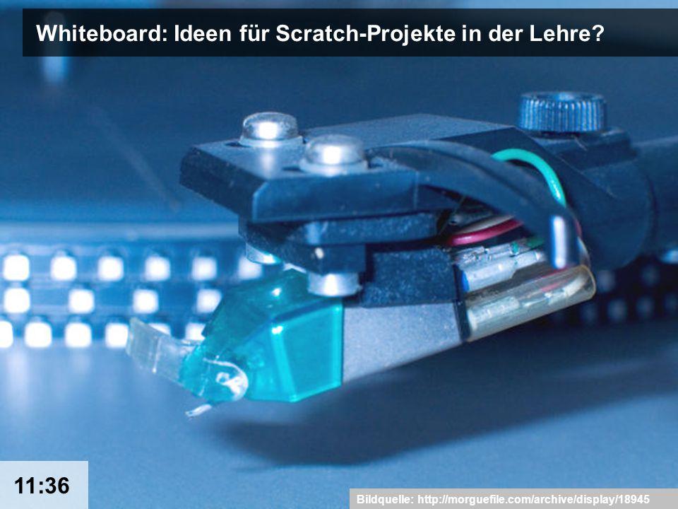 16 Whiteboard: Ideen für Scratch-Projekte in der Lehre.