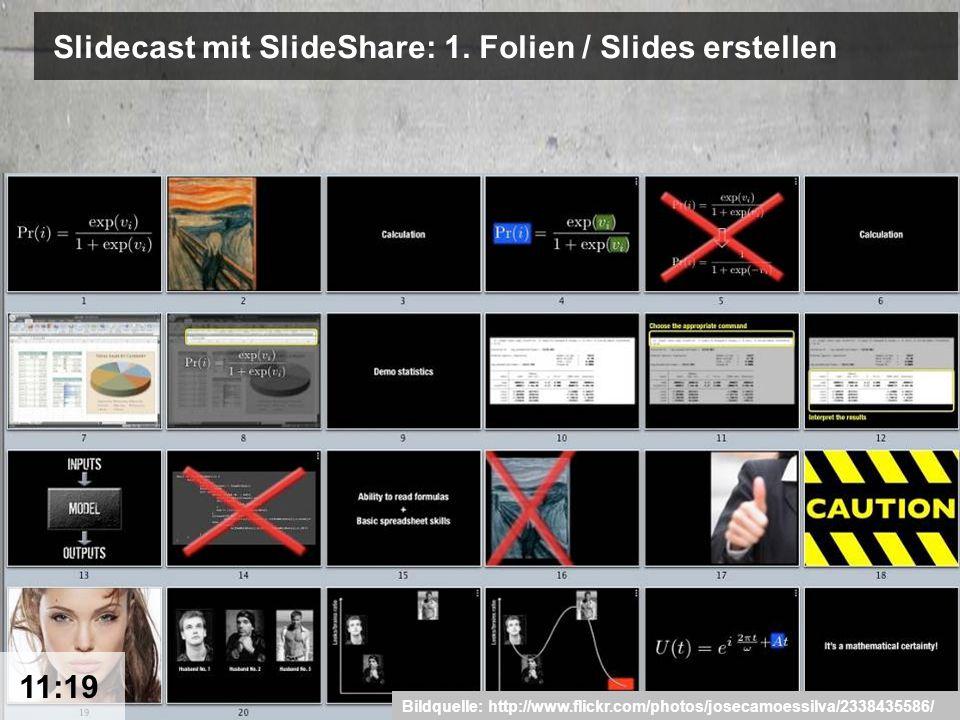 8 Slidecast mit SlideShare: 1.