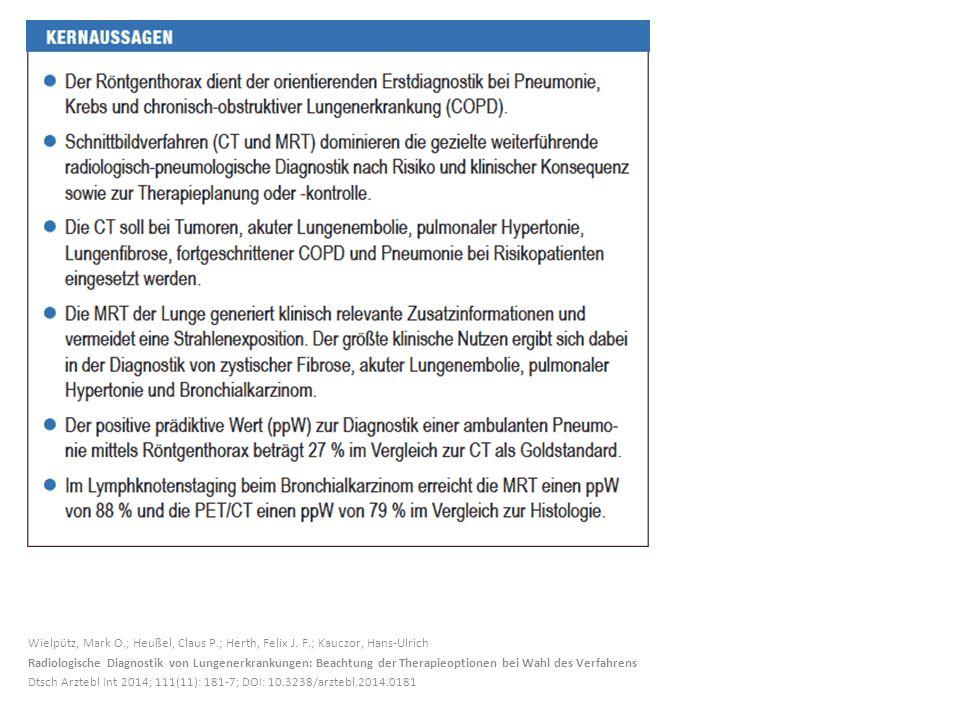 Wielpütz, Mark O.; Heußel, Claus P.; Herth, Felix J.