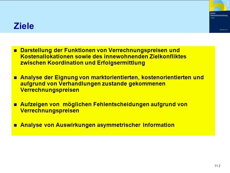 11.43 Zweistufige Verrechnungspreise...n Fixkostenabdeckung Welche Kosten werden abgedeckt.