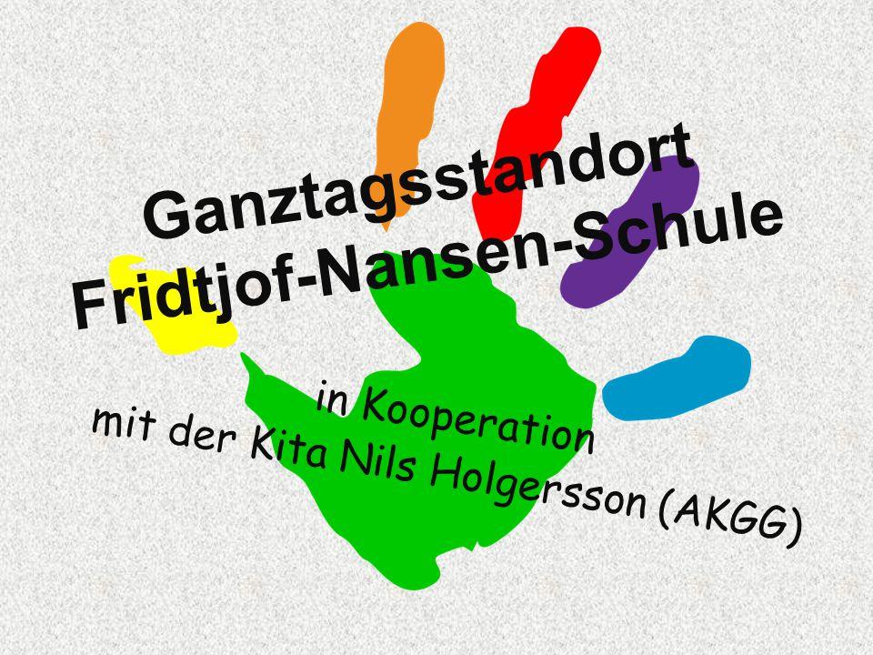 Ganztagsstandort Fridtjof-Nansen-Schule Grundschule Dreizügig, eine Vorklasse und zwei Vorlaufkurse ca.