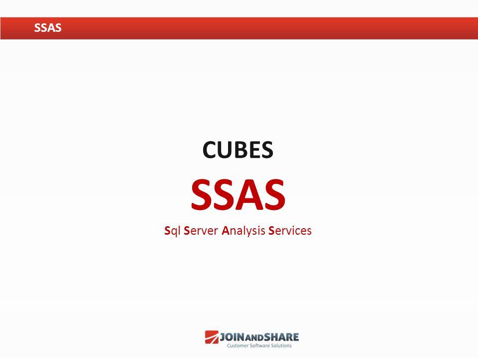 CUBES SSAS Sql Server Analysis Services SSAS
