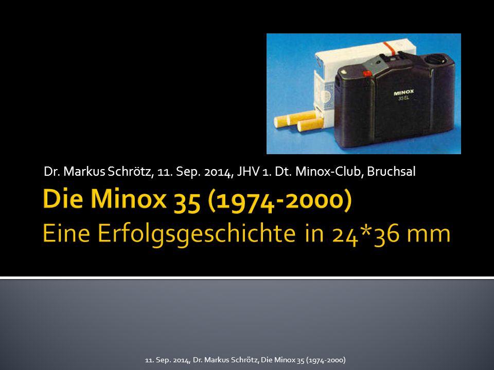 Dr.Markus Schrötz, 11. Sep. 2014, JHV 1. Dt. Minox-Club, Bruchsal 11.