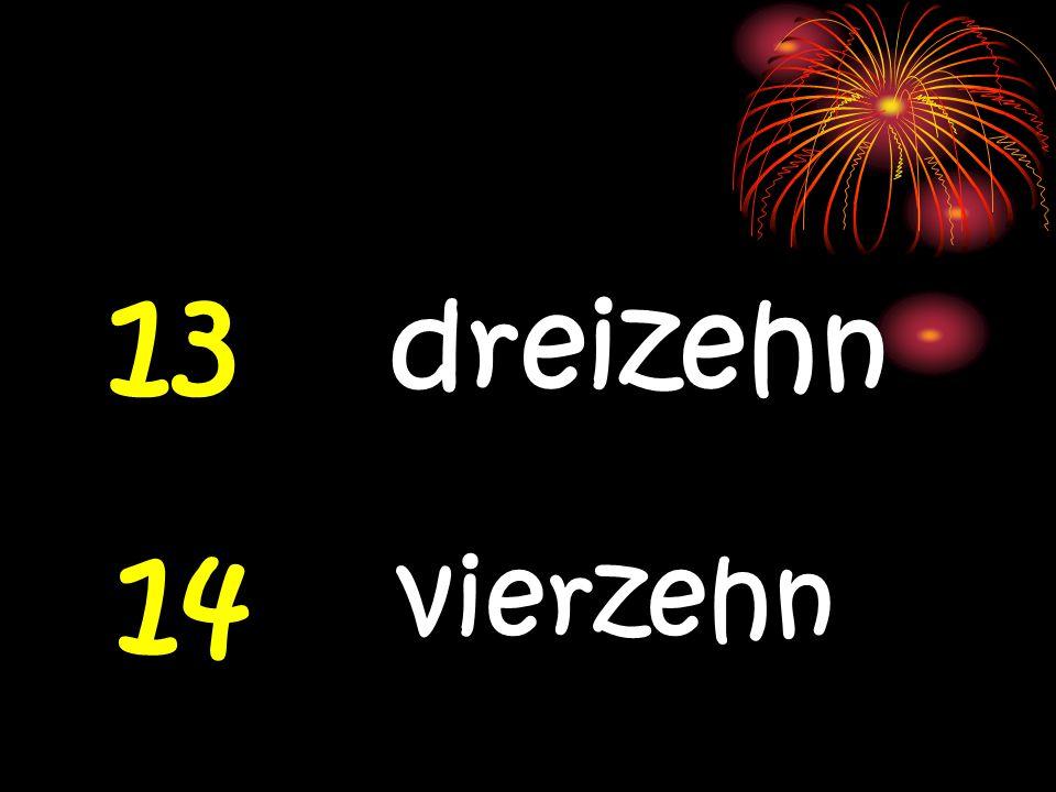 11 elf 12 zwölf