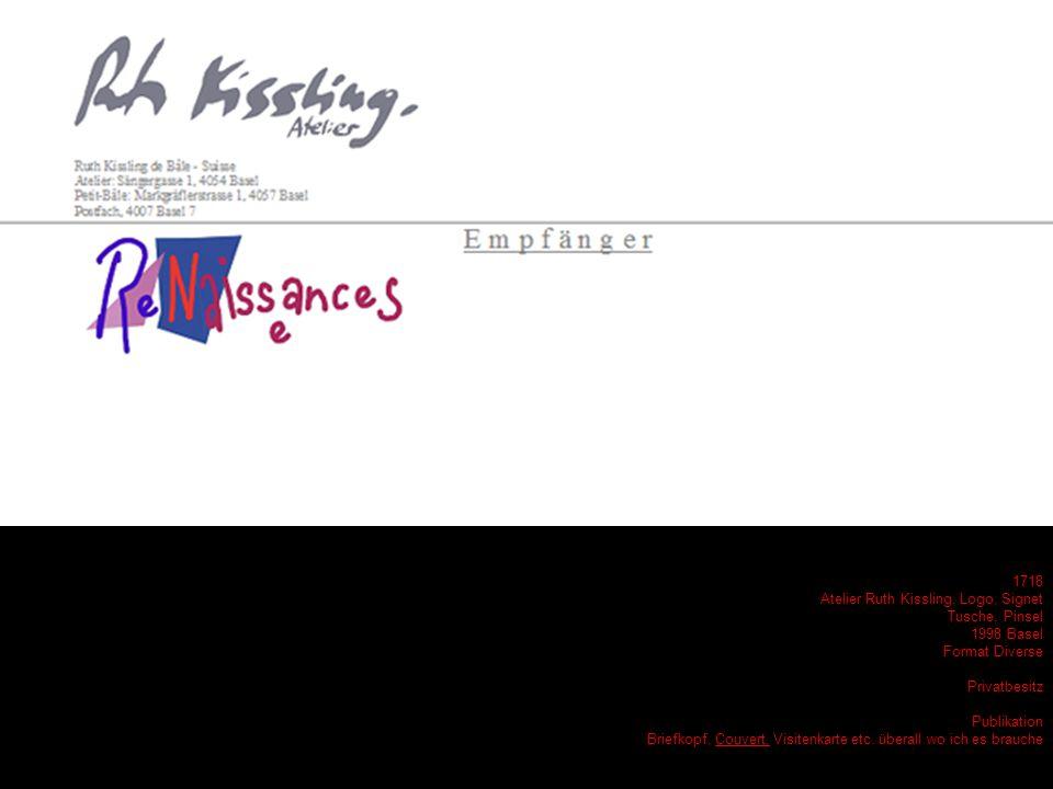 1649 - Partout unsere Esther, wild - Tusche - 2003 Bâle - Privatbesitz - Geburtstag