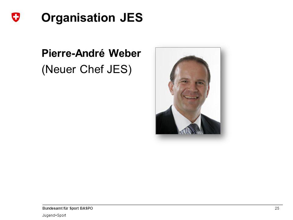 25 Bundesamt für Sport BASPO Jugend+Sport Organisation JES Pierre-André Weber (Neuer Chef JES)