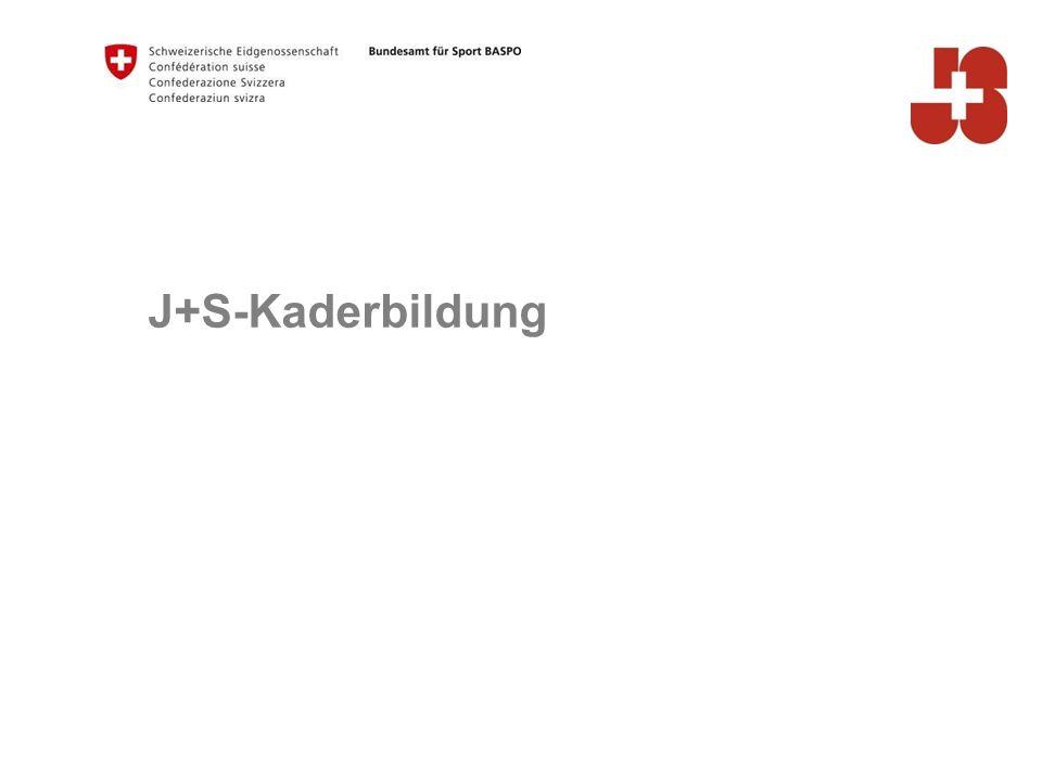 J+S-Kaderbildung