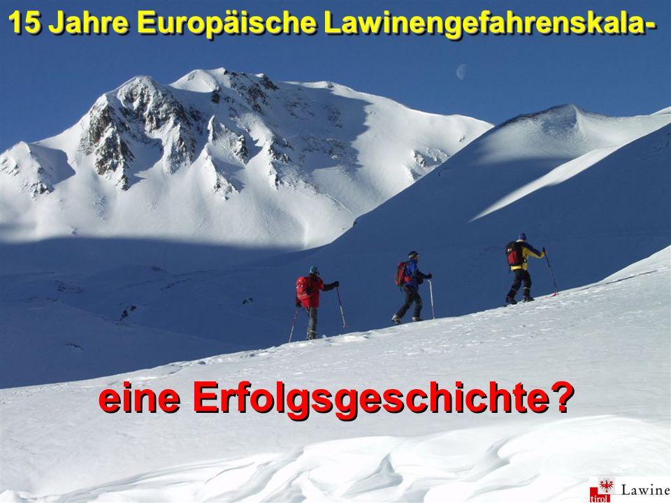 1.Internationale Tagung der Lawinenwarndienste im Alpenraum, 19.-21.