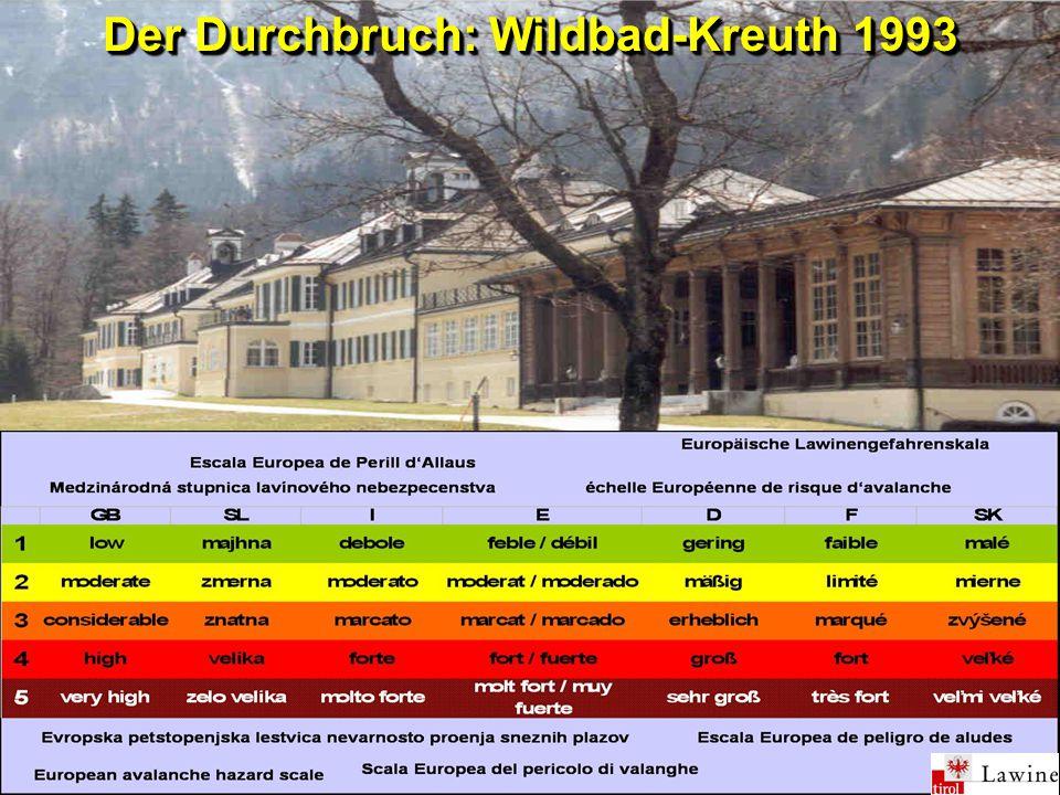 Der Durchbruch: Wildbad-Kreuth 1993