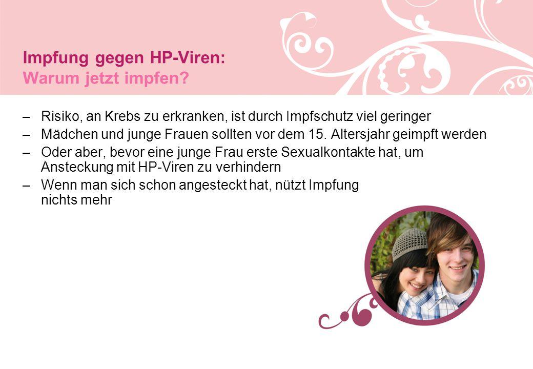 Impfung gegen HP-Viren: Warum jetzt impfen.