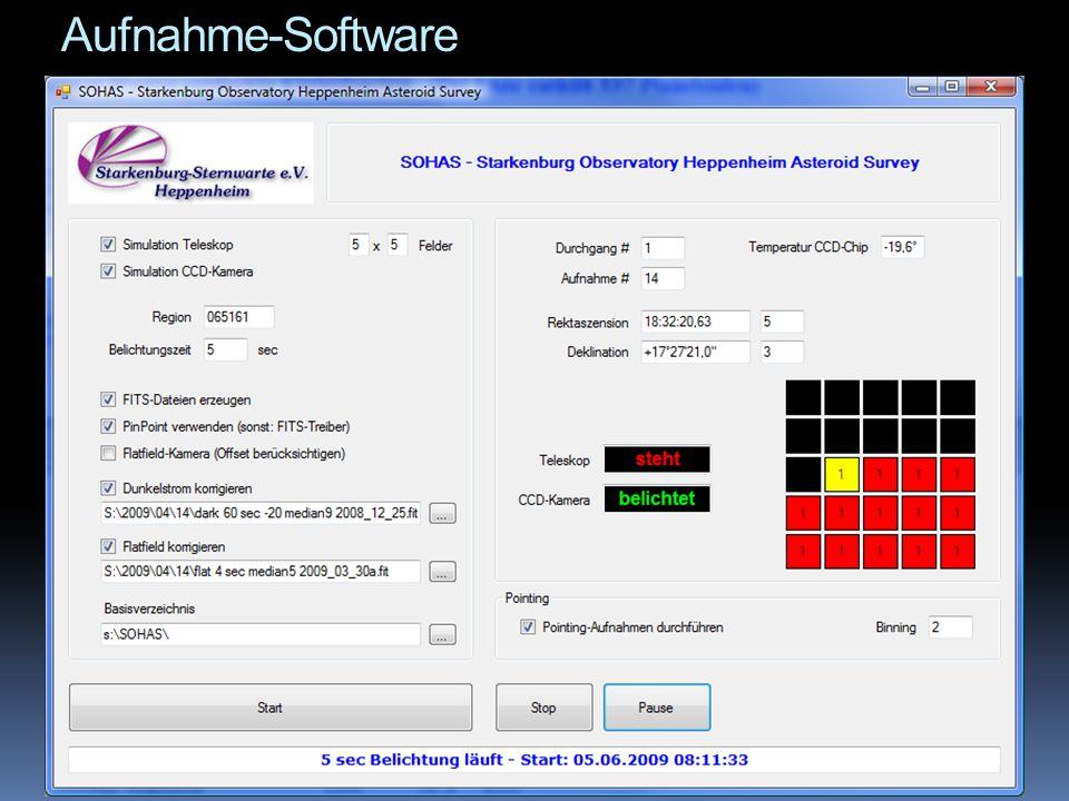 Neu: MPEC-Scanner  In den SSA-NEO Observing Runs der ESA wird hauptsächlich NEO Follow-up und Recovery durchgeführt, TOTAS-Surveys nur nebenher  MPEC-Webseite MPEC-Webseite  Automatisches Update der TOTAS- Datenbank durch kleines Tool, das alle MPECs ab einem Datum scannt