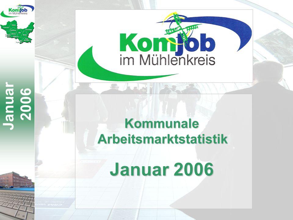 Januar 2006 KommunaleArbeitsmarktstatistik Januar 2006