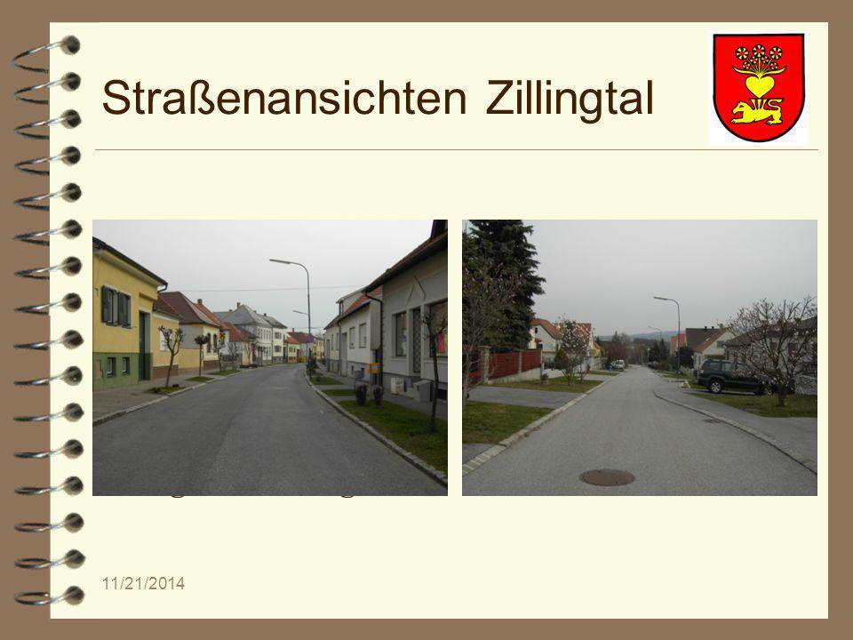 11/21/2014 Straßenansichten Zillingtal Singkreis Zillingtal Dorfmusik Zillingtal