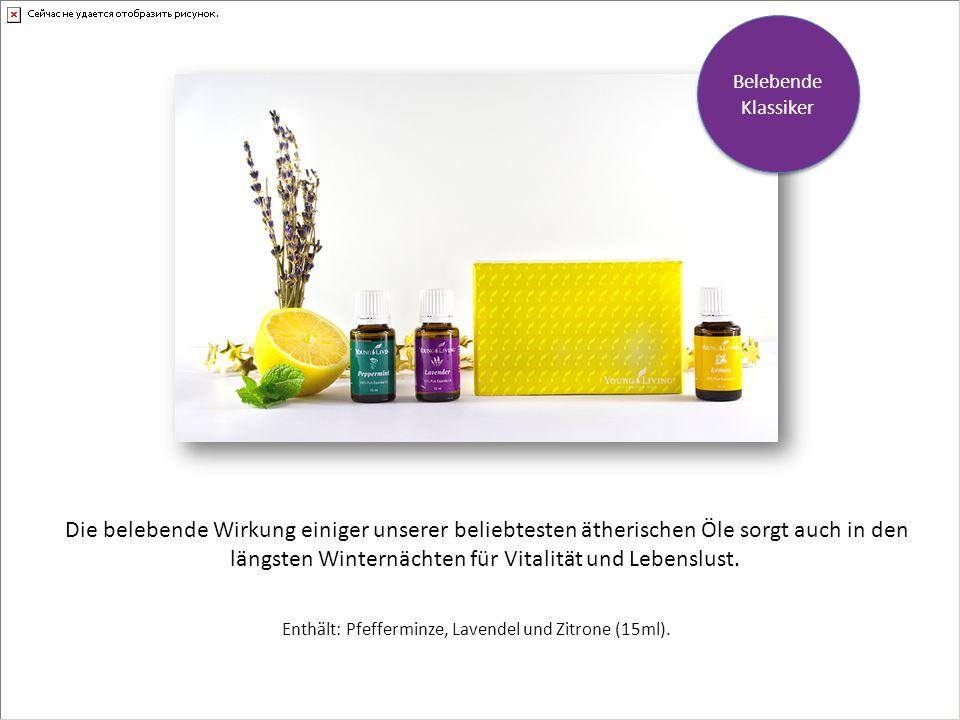Enthält: Pfefferminze, Lavendel und Zitrone (15ml).