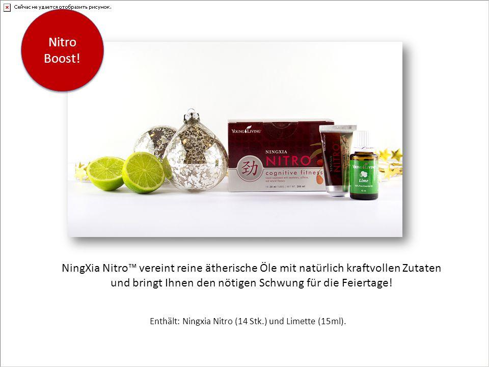 Enthält: Ningxia Nitro (14 Stk.) und Limette (15ml).