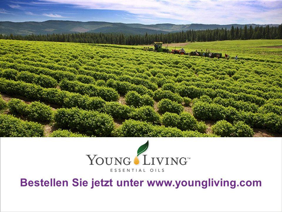 Bestellen Sie jetzt unter www.youngliving.com