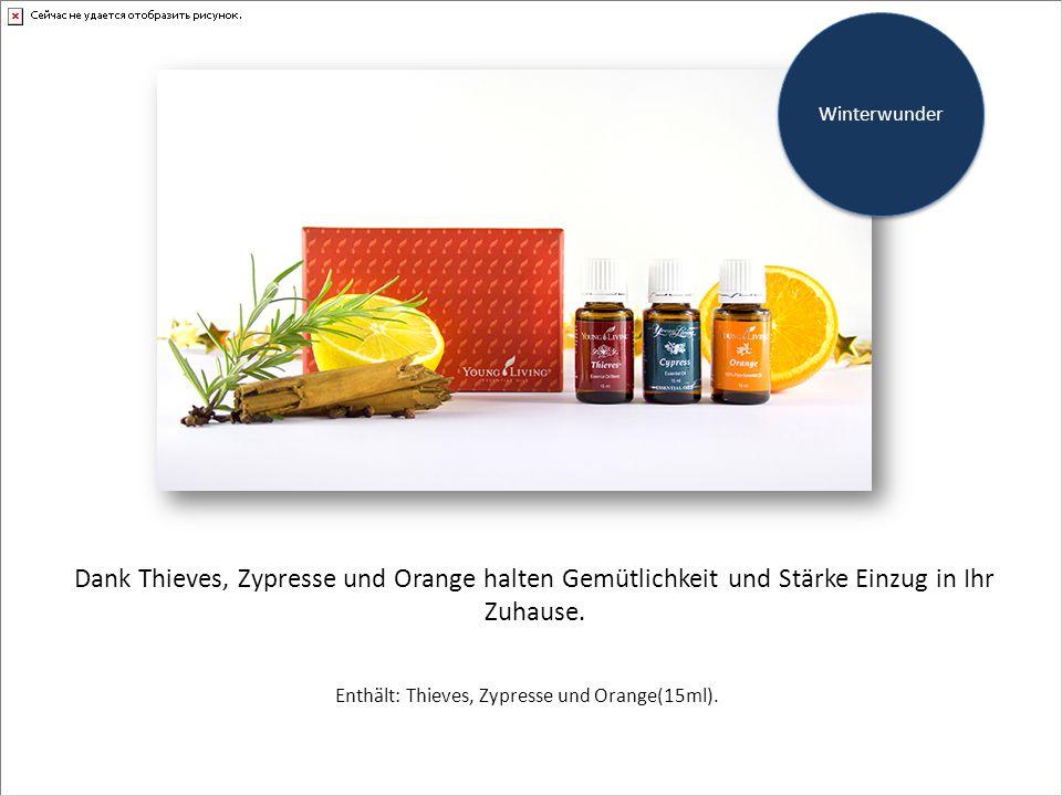 Dank Thieves, Zypresse und Orange halten Gemütlichkeit und Stärke Einzug in Ihr Zuhause.