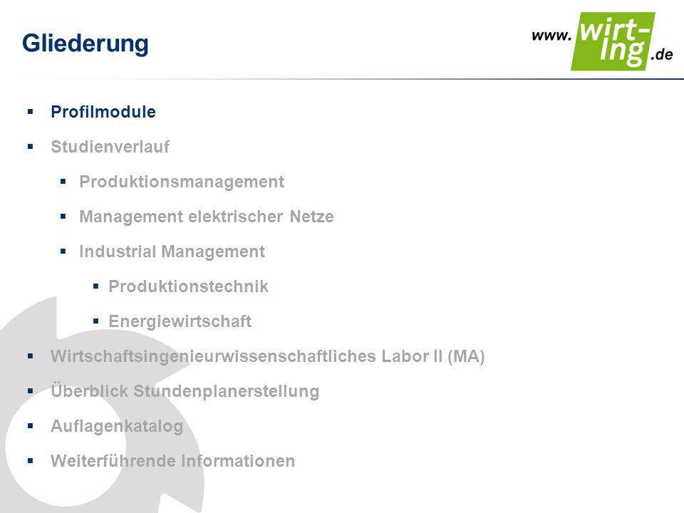 Vertiefungsrichtungen im Master Wahloptionen bei der Einschreibung Produktions- Management Management elektrischer Netze Industrial Management Schwerpunkt Maschinenbau Schwerpunkt Elektrotechnik Schwerpunkt Produktions -technik Schwerpunkt Energie- wirtschaft