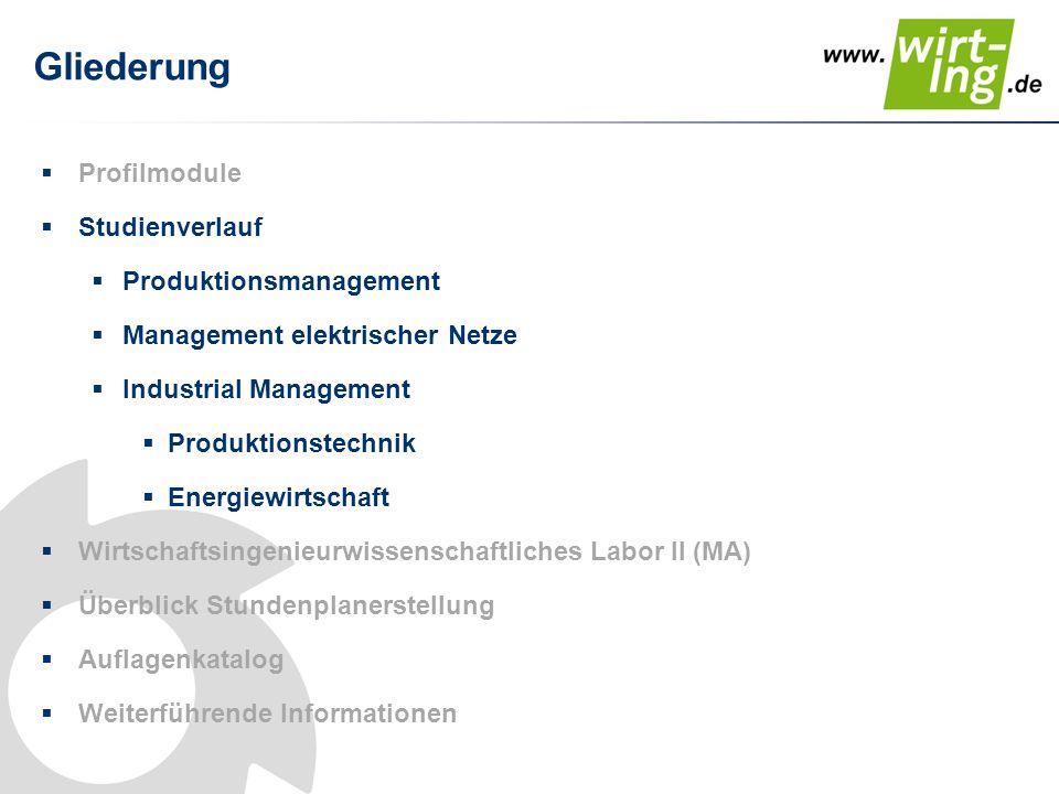 "Studienverlauf Master ""Produktionsmanagement 1.Sem."