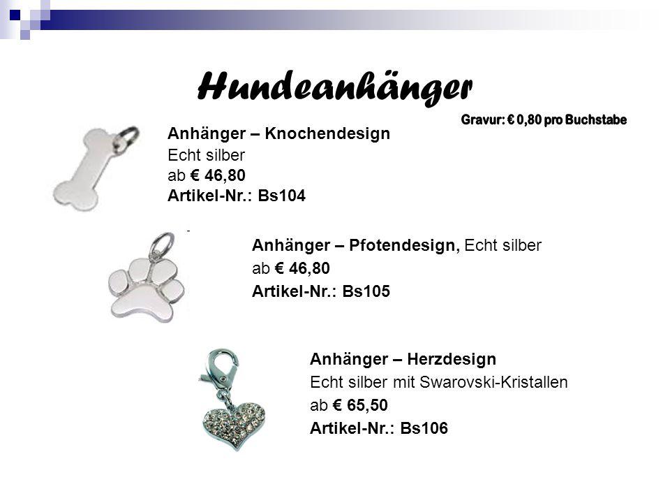 Adressanhänger Safty Light Pfotenform, phosphoreszierend € 1,90 Artikel Nr.