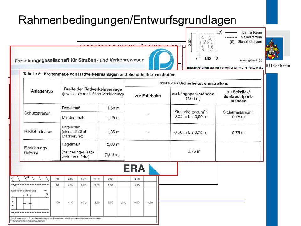 FB 66.1 Rahmenbedingungen/Entwurfsgrundlagen