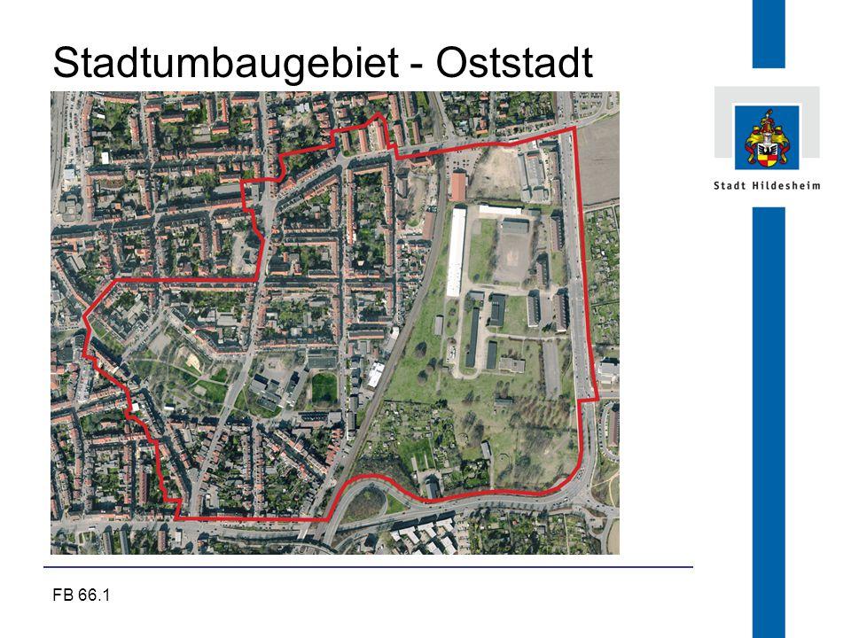FB 66.1 Stadtumbaugebiet - Oststadt © Ackers Partner Städtebau