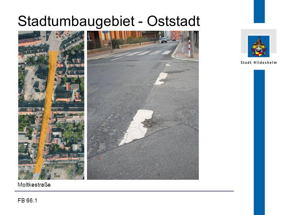 FB 66.1 Stadtumbaugebiet - Oststadt Moltkestraße
