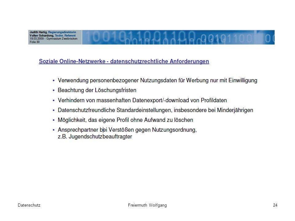 DatenschutzFreiermuth Wolfgang24