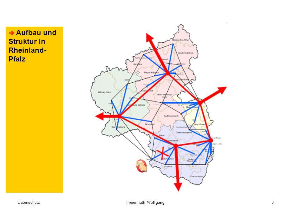 DatenschutzFreiermuth Wolfgang3  Aufbau und Struktur in Rheinland- Pfalz