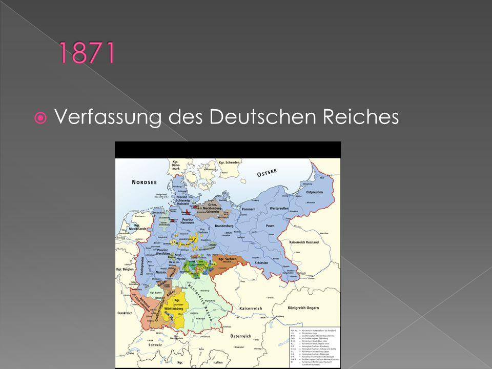  Verfassung des Deutschen Reiches
