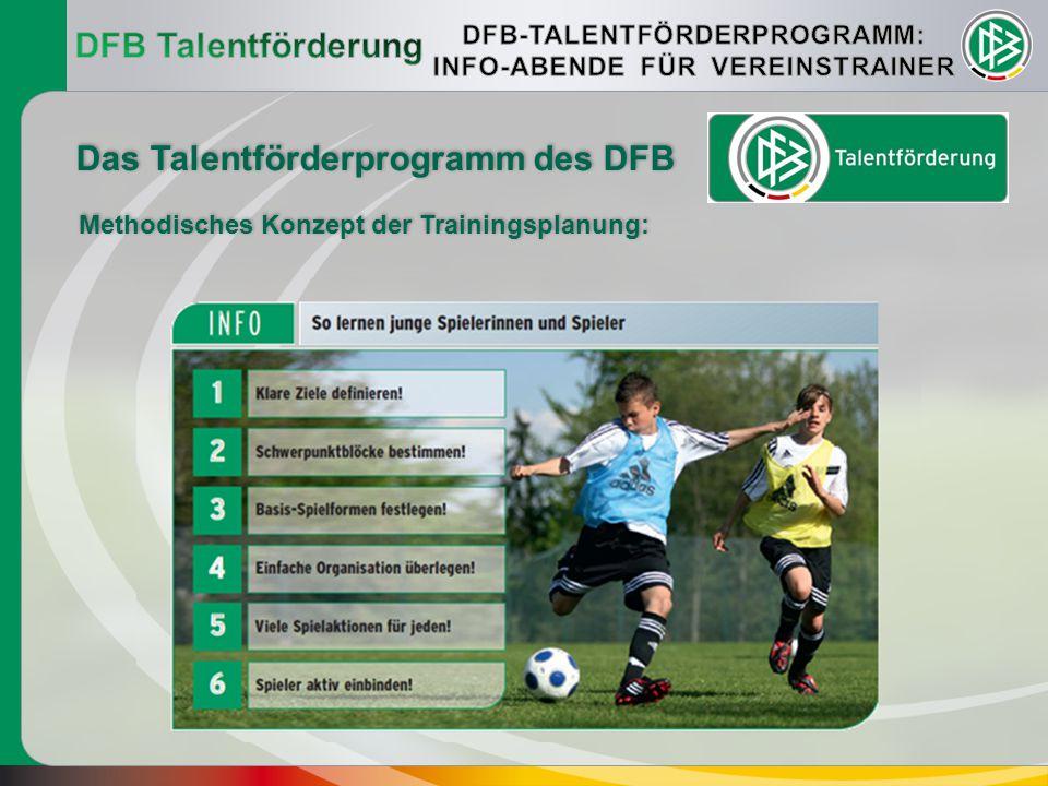 """""""Ein Talent wird auf seinem Weg vom Anfänger in einem """"kleinen Amateurverein bis zum Spitzenspieler von vielen begleitet."""