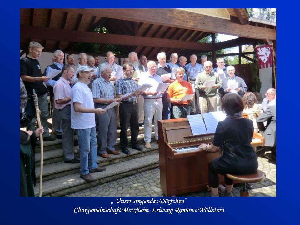 """"""" Unser singendes Dörfchen Chorgemeinschaft Merxheim, Leitung Ramona Wöllstein"""