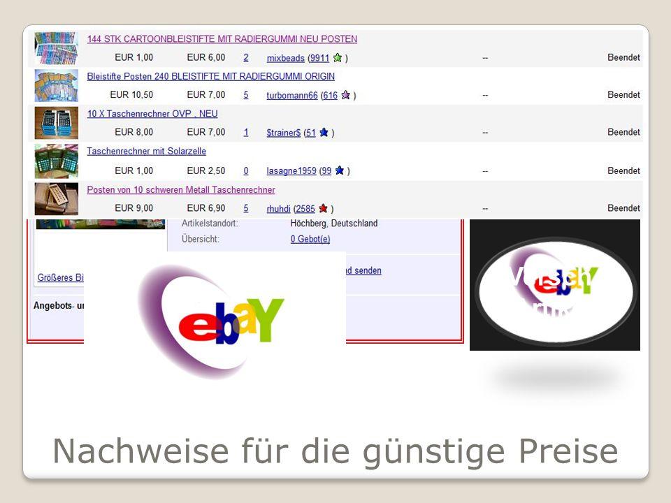 Nachweise für die günstige Preise 400 Klebestifte Versch. Größen 1€ 150 Versch. Artikel 1,99€ Versch. Artikel