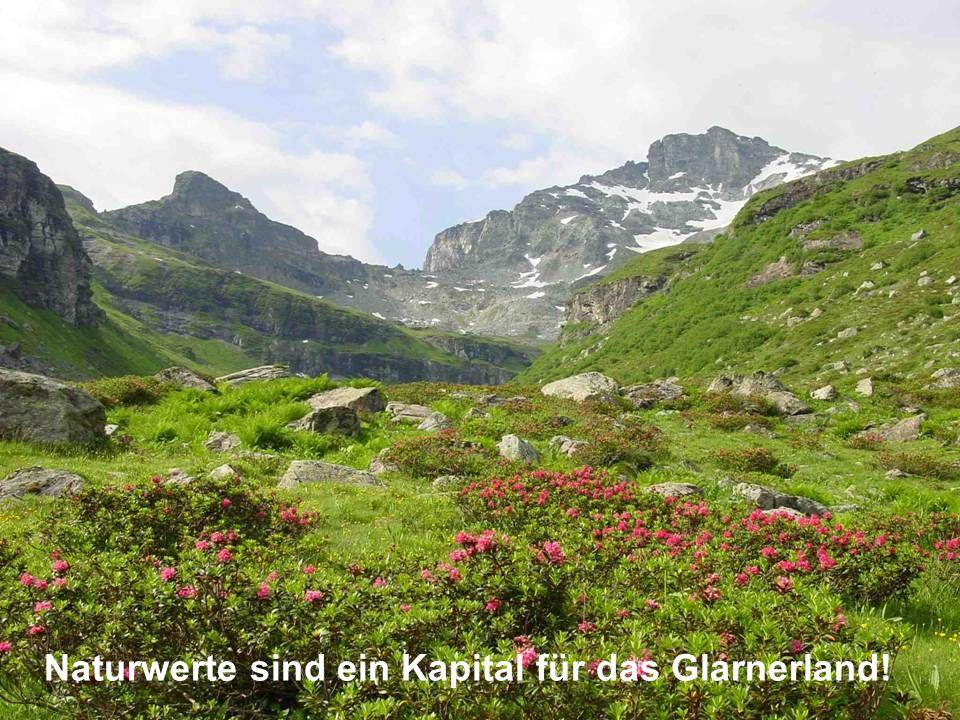 Naturwerte sind ein Kapital für das Glarnerland!